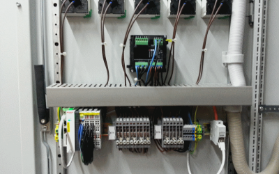 Installation of energy detection in existing control cabinet
