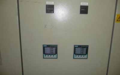 Installation of measuring devices in the existing control cabinet